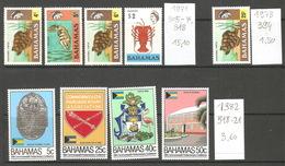 Bahamas, 1971-82, Lot Divers - Bahamas (1973-...)
