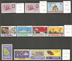 Barbades, 1965-72, Lot Divers - Barbades (1966-...)