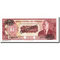 Billet, Paraguay, 10 Guaranies, 1952, Specimen TDLR, KM:196s, NEUF - Paraguay