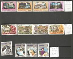 Barbades, 1972-85, Lot Divers - Barbades (1966-...)