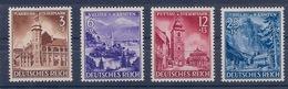 ALLEMAGNE REICH - 730/733 . SLOVENIE SERIE COMPLETE NEUF** MNH COTE 20 EUR - Allemagne