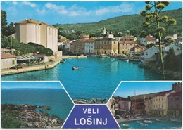 VELI LOSINJ, Croatia,  1996 Used Postcard [21202] - Croatia
