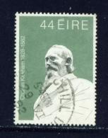 IRELAND  -  1982  Charles Kickham  44c  Used As Scan - Used Stamps