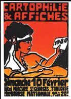 CARTOPHILIE & AFFICHES . TOULOUSE 1980. - Borse E Saloni Del Collezionismo
