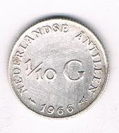 1/10 GULDEN 1966 NEDERLANDSE ANTILLEN  /3049G/ - Netherland Antilles