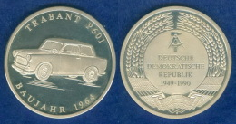 Medaille Trabant 40mm PP - Elongated Coins