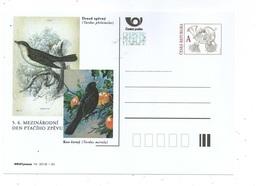 Czech Republic 2018 - International Day Of Bird Singing, Special Postal Stationery, MNH - Pájaros Cantores (Passeri)