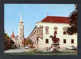 Hungría. Budapest *Castle Museum With The Matthias Church* Foto: MTI Mezö Sándor. Nueva. - Hungría