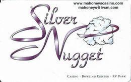 Mahoney's Silver Nugget Casino - Las Vegas, NV - BLANK Slot Card - Casino Cards