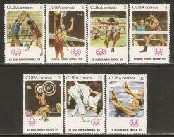 1976 Mi# 2135-2141 ** MNH - Summer Olympics, Montreal - Estate 1976: Montreal