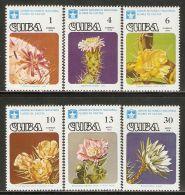 1978 Mi# 2294-2299 ** MNH - Cactus Flowers - Nuevos