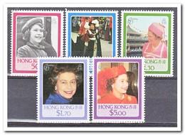 Hong Kong 1986, Postfris MNH, Queen Elisabeth - 1997-... Région Administrative Chinoise