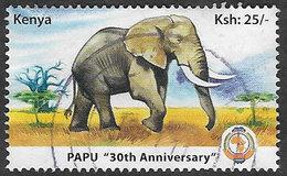 Kenya 2010 PAPU 25/- Good/fine Used [20/19011/ND] - Kenia (1963-...)