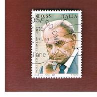 ITALIA REPUBBLICA  -  2009 N. BOBBIO - USATO ° - 6. 1946-.. Repubblica