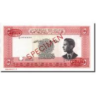 Billet, Jordan, 5 Dinars, 1952, 1952, Specimen TDLR, KM:7s, NEUF - Jordanie