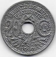 20c Lindauer En Zinc  1945C - Frankreich