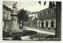 CARRARA - PIAZZA GARIBALDI VIAGGIATA FG - Carrara