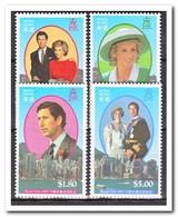 Hong Kong 1989, Postfris MNH, Princes Diana And Prince Charles - 1997-... Région Administrative Chinoise