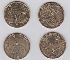Médailles -2013- 2012 -2010 -2015 - Monnaie De Paris