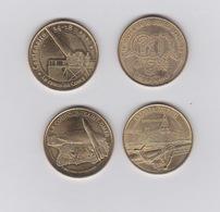 Médailles -2014- 2012 -2010 -2015 - Monnaie De Paris