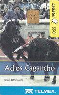 Mexico Phonecard LADATEL TELMEX PABLO HERMOSO DE MENDOZA Farewell To Cagancho Luzitan Horse No Credit Good Condition - Mexico