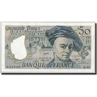 France, 50 Francs Quentin De La Tour, 1985, NEUF, Fayette:67.11, KM:152b - 50 F 1976-1992 ''Quentin De La Tour''