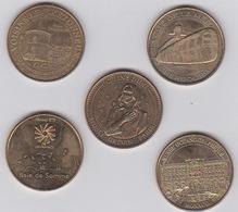 Médailles -2014- 2012 -2010 -2013 - Monnaie De Paris