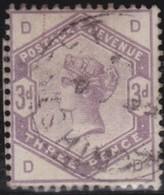Great  Britain    .   Yvert   80            .    O      .   Gebruikt    .     /    .     Cancelled - 1840-1901 (Victoria)