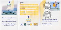 Germany Cancelled Postal Stationery Card (ganzsache) - Postcards - Mint