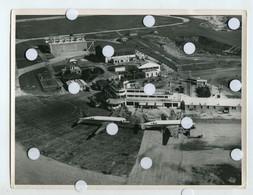 RARE Aeroport Lyon BRON INSTALLATION Ouverture  Id Dos 1952 50s Avion Ligne Flotte Air France Constellation Superbe - Aviation