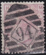 Great  Britain    .   Yvert  56   Pl  10    1875        .    O      .   Gebruikt    .     /    .     Cancelled - Oblitérés