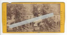 BELGIQUE SPA Circa 1865 1870 PHOTO STEREO /FREE SHIPPING REGISTERED - Photos Stéréoscopiques