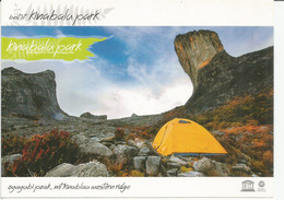 UNESCO WORLD HERITAGE. Mt Kinabalu 4,095 M  Western Ridge. Mint Uncirculated Postcard - Malaysia