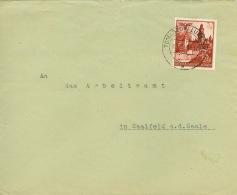 Generalgouvernement 45 Auf Brief - 1939-44: World War Two