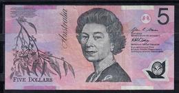 AUSTRALIA 1997. 5 DOLLAR  ELISABETH II . BILLETE DE POLIMERO. MBC   B1092 - Emissions Gouvernementales Décimales 1966-...