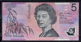 AUSTRALIA 1997. 5 DOLLAR  ELISABETH II . BILLETE DE POLIMERO. MBC   B1092 - Decimal Government Issues 1966-...