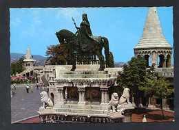 Hungría. Budapest *Statue Of St. Stephen* Foto: Timori Ede. Nueva. - Hungría