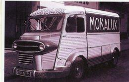 Citroen HY Camionette  -  Publicité Pour La Marque 'Mokalux'   -  15x10 PHOTO - Camions & Poids Lourds