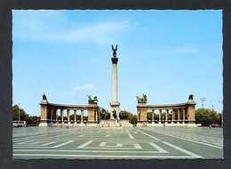 Hungría. Budapest *City Park. Heroes' Square* Foto: Váry Károlyne. Nueva. - Hungría