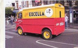 Citroen HY Camionette  -  Publicité Pour Les Cafes 'Excella'   -  15x10 PHOTO - Camions & Poids Lourds