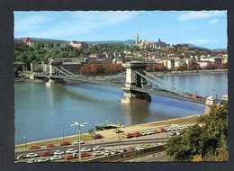 Hungría. Budapest *View With The Chain Bridge* Foto: Kastaly Károly. Nueva. - Hungría