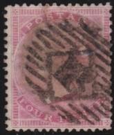 Great  Britain    .   Yvert  18     1855-57     .    O      .   Gebruikt    .     /    .     Cancelled - Oblitérés