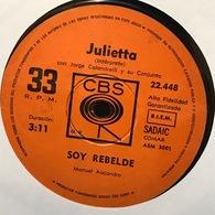 Sencillo Argentino De Julietta Año 1971 - Vinyl Records