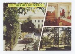 66-LES THERMES DU BOULOU HOTEL THERMAL ET PARC-VOITURES -  Dos Scanné- B12 - Autres Communes