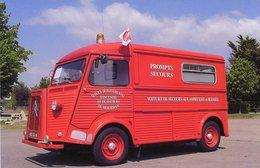 Citroen HY Camionette  -  Voiture De Secours   -  15x10 PHOTO - Camions & Poids Lourds