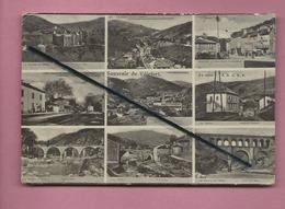 Carte Abîmée  - Souvenir De Villefort  -  (multivue , Multivues ) - Villefort