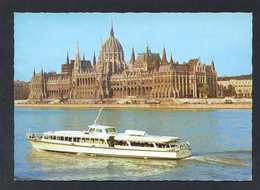 Hungría. Budapest *Parliament* Foto: Tulok Ferenc. Nueva. - Hungría