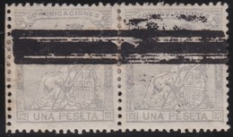 Spain     .           Yvert   .    137  Pair       .           O   .       Cancelled - 1873-74 Regencia
