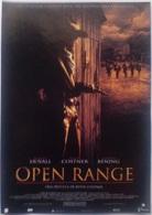 Folleto De Mano. Película Open Range. Robert Duvall. Kevin Costner. Annette Bening - Merchandising