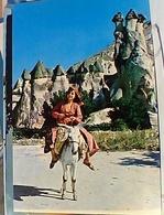 TURCHIA  RAGAZZA SU ASINO N1975  GS1336 - Turchia